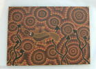 #AB1308. ABORIGINAL ART BY ANGELA BLAKENEY WITH CERTIFICATE OF AUTHENTICITY