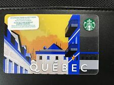 STARBUCKS Card 2015 Quebec City - Free Shipping