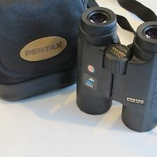 Pentax 8 x 42 DCF WP Binoculars, Case, and Cabela's Body Strap