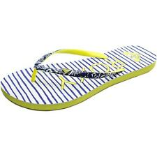 Roxy Summer Women US 9 Blue Flip Flop Sandal NWOB  1809