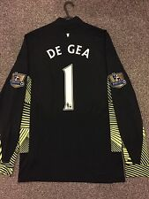 MANCHESTER UNITED 2011/12 GOALKEEPER SHIRT ADULTS(S) LONG SLEEVES 1 DE GEA