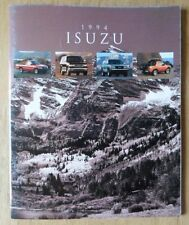 ISUZU SERIE ORIG 1994 USA inchiostri SALES BROCHURE-Amigo RODEO TROOPER PICK UP