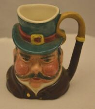 """Sylvac Staffordshire- miniature toby jug """"Cabby"""" 2-3/4 tall hand painted England"""