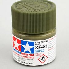 Tamiya XF81 Dark Green Acrylic Model Paint 81781 TAM81781