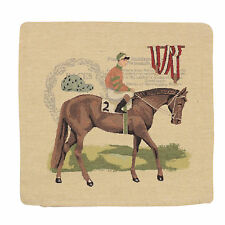 "18"" (45cm) Cushion Cover Tappestry Style Designer Vintage Pillow ""Horse No.2"""