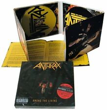 Anthrax - Among The Living  Deluxe Edition NEW CD / DVD
