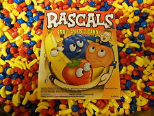 Rascals Fruit Shaped Flavored Coated Candy 2 Lbs  Dubble Bubble Concord Nut Free
