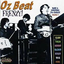 v/a oz beat frenzy CD rare 60's garage punk