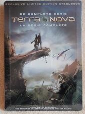 Terra Nova The Complete Series SteelBook [DVD: 2, Embossed, Exclusive] New!