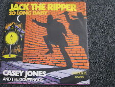 Casey Jones and the Governors-Jack the Ripper 7 PS-Made in Germany