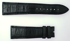 Authentic Blancpain Dark Navy Leather Watch Band 22 mm Lug 18 mm Buckle Clasp