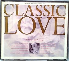Various Artists - Classic Love (CD 1992) (Fatbox Jewel Case 2 Disc Compilation)