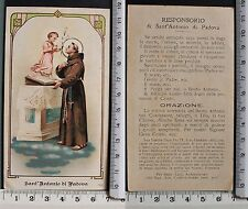 Sant' Antonio di Padova - con Responsorio del Santo - Orazione  -  97