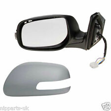 TOYOTA AVENSIS 2006 -2008 POWER FOLD DOOR WING MIRROR LH LEFT PASSENGER N/S SIDE