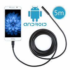 5.5mm 5M Android Phone Endoscope IP67 Waterproof USB Borescope LED Camera