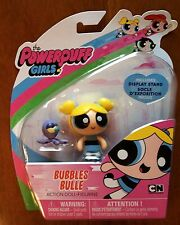 """The Powerpuff Girls Bubbles Action Doll Figure 3"""" New"""