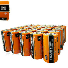 25 Duracell C Size batteries Industrial Procell Alkaline LR14 MN1400 1.5V EX2022