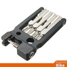 Bike Accessories - 19 in 1 Multi Repair Tool Kit Set - Bicycle Bike Tools Black