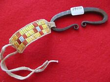 NORTHERN PLAINS QUILLED STEEL STRIKER, N.A. QUILL BEADED STRIKER,   #PORT-00360