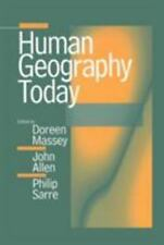 Human Geography Today Massey Allen Sarre Paperback