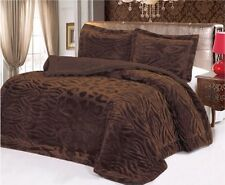 Down Alternative Super Soft Plush Comforter Blanket and Pillow Cover Queen Set