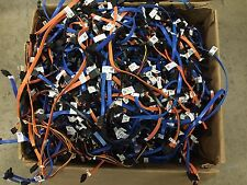 OEM DELL MIXED BULK LOT 25 SATA HARD DRIVE data CABLE VARIOUS LENGTH COLOR