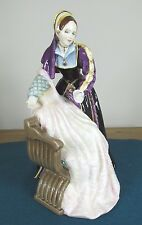 "ROYAL DOULTON figura ""Catherine Howard"" - HN 3449-con certificiate RE ENRICO"
