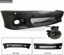 BMW e39 5 Series Front BUMPER M5 M look foglights sport m package sport fog