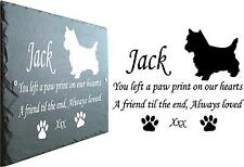 Pet westie Memorial Ardoise plaque, personnalisé pour vous.. West Highland Terrier