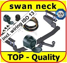 Towbar & Electric 13pin Opel / Vauxhall Astra MK4 G Estate 1998 - 2005 swan neck