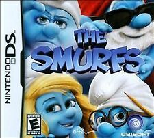 The Smurfs GAME Nintendo DS DSI XL LITE 3 3DS 2 2DS