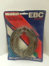 EBC 814G Grooved  Brake Shoes Rear/ Front  KTM 1984-85 ATK560 84-85