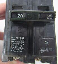 SIEMENS B220 INTERRUPTOR 20A/2-POLE/120-240V/60Hz