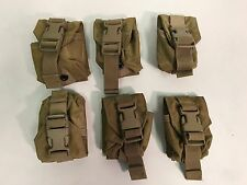 Set of 6 Eagle Industries MOLLE II Coyote Grenade Pouch MC-FGC-1-MS-COY USMC GC