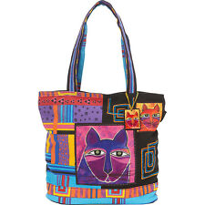 Laurel Burch Whiskered Cats Shoulder Bag - Multi