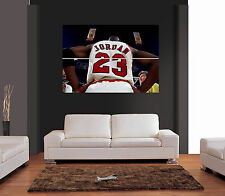 MICHAEL JORDAN BASKETBALL Ref 02 Giant Wall Art Print Picture Poster
