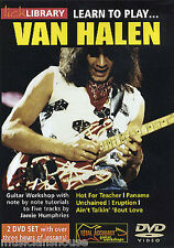 Van Halen Licks, Learn To Play