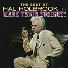 The Best of Hal Holbrook in Mark Twain Tonight! by Hal Holbrook (CD,...
