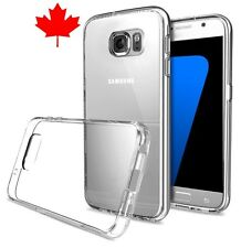 Samsung Galaxy S7 Case - Top Quality Crystal Clear Transparent Soft Gel Cover