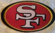 """San Francisco 49ers NFL 3.5"""" Iron On Embroidered Patch ~USA Seller~FREE Ship"""