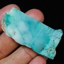 89.00 CTS AAA RAW MINERAL SPECIMEN 100% NATURAL CHRYSOPRASE GEMSTONE ROUGH SLAB