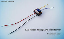 FAB 4196 Ribbon Mic Transformer. Stunning Lundahl alternative MXL,RCA,Apex etc.