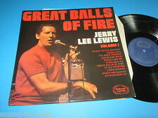 Jerry Lee Lewis / Great Balls Of Fire - Volume 1 (Canada, Hallmark SHM 823) - LP