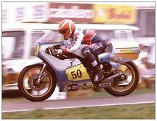 ansichtkaart Suzuki RG500 1980 #50 Takazumi Katayama RAM Races Raalte