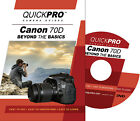 QUICKPro Training DVD Canon EOS 70D - Beyond the Basics NEW Free US Shipping