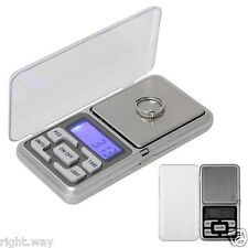 0.01g - 200g Portable Small Mini Digital Jewelry Pocket Gram Scale LCD
