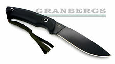 Kizlyar Supreme Savage Aus-8 Black Finish Fixed Blade Knife Black G-10 Russian