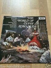 LASZLO TABOR AND HIS ORCHESTRA THE WORLD OF GYPSY ROMANCE (SPA 117) LP ALBUM EEH