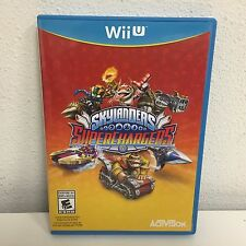 Skylanders Superchargers Wii U standalone GAME DISC ONLY no figures or portal