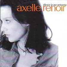 Axelle RENOIR  CD single Silence je me retourne 2 tracks card sleeve